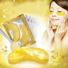5 Packs Moisturized Eyelid Patches Sheet Beauty Gold Crystal Collagen Eye Mask