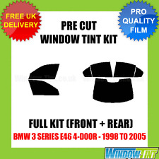 BMW 3 SERIES E46 4-DOOR 1998-2005 FULL PRE CUT WINDOW TINT KIT