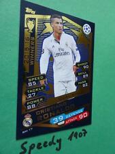 Topps Champions League 2016 GOLD Winners Ronaldo Real Madrid Match Attax 2017