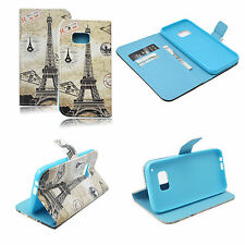 Fashion Magnetic Flip PU Leather Wallet Cover Case Stand Skin for HTC ONE M9