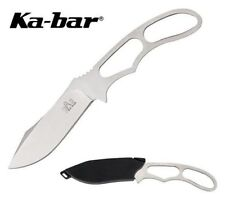 Ka-bar Messer ADVENTURE PIGGBACK Halsmesser Neckknife Jagdmesser kompakt + Etui%