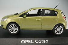 NOREV - OPEL Corsa 5-türig - hellgrün metallic - 1:43 - NEU in OVP - Modellauto