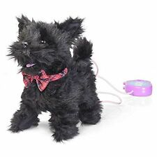 SCURRYING Black SCOTTY DOG Sensory special needs-great gift children kids
