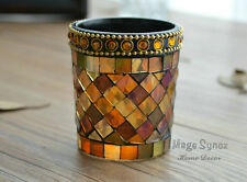 Mosaic Votive Cup Glass Tealight Candle holder bar party home decor ZT7