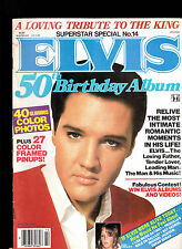 Elvis Presley 50th Birthday Album Superstar Special #14 1984