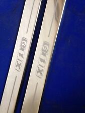X19 fiat x1/9 �� door sills stainlss steel etched logo (early design)inc fixings