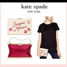 Kate Spade Bag WKRU3051 Merrion Square Emanuelle Multi Cement Clutch Agsbeagle