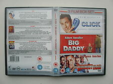 CLICK / BIG DADDY / THE LONGEST YARD  (3 DVDS)