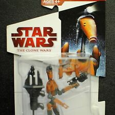 Star Wars The Clone Wars CG Animated Red Rocket Battle Droid TCW figure CW03 MOC