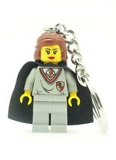Harry Potter NEW Minifig Hermione Granger Gryffindor Keychain Using LEGO