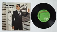 "HUMAN LEAGUE/ THE MEN I Don't Depend On You 7"" UK includes Cruel  AUTOGRAPHED"