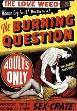 Drug Film The Burning Question Sex Craze  Poster Print