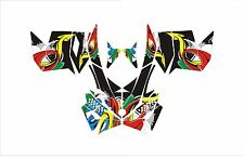 SKI DOO BRP REV XP XM XR Z SUMMIT FREERIDE GRAPHICS DECAL WRAP 163 154 146 137 a
