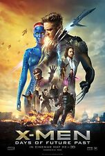 X-Men Days of Future Past (2014) Movie Poster (24x36) - Hugh Jackman, Lawrence