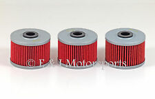 2004 2005 2006 HONDA RANCHER 350 TRX350TM **3 PACK** HIFLO OIL FILTER