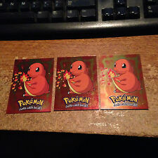 1X CHARMANDER E4 OF 12 HOLO/VLP/NM/1999 TOPPS THE MOVIE EDITION/REAL PICS/WRONGW
