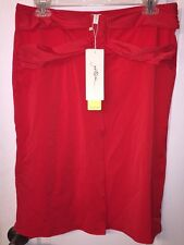 NWT Gottex Red Swimsuit Beach Cover-up Convertible Bandeau Dress Skirt Women's M