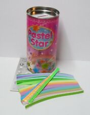 Korean Jong Ie Nara Pastel Lucky Star Origami Paper 820 Pcs