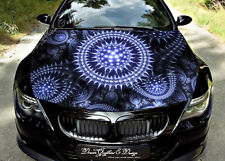 Abstract Full Color Graphics Adhesive Vinyl Sticker Fit any Car Bonnet #113