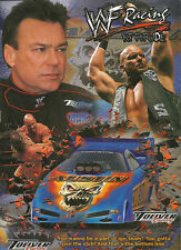 WWE / Toliver Racing advertising poster set of 3 . Undertaker, Rock, Stone Cold