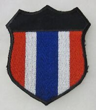 ORIGINAL VIETNAM WAR Vintage THAI Made THAILAND SHIELD PATCH INSIGNIA