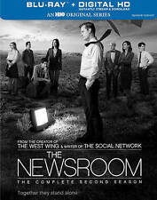 The Newsroom The Complete Second Season Blu-ray 4-Disc Set in case w/ slip cover