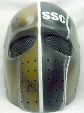 "New! Army of Two ""SSC"" Custom Fiberglass Collectible Airsoft Mask"