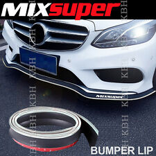 MIXSUPER Rubber Bumper Lip Splitter Chin Spoiler EZ Protector CHROME for Toyota