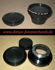 Lens Adapter Hasselblad C-Objektive an Yashica/Contax Anschluß ! Adapter HB - CX