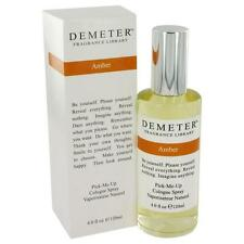 Demeter Fragrance Library AMBER Womens 4 oz 120 ml Pick Me Up Cologne Spray