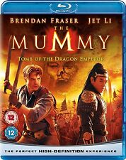 MUMMY PART 3 TOMB OF THE DRAGON EMPEROR Blu Ray Brand New and Sealed UK Release