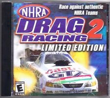 NHRA Drag Racing 2: Limited Edition (PC, 2002, ValuSoft) Free USA Shipping!