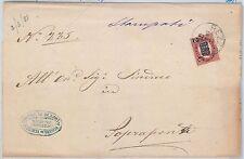 ITALIA REGNO:   Sass 29 su LETTERA da Rezzato 1881