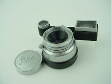 Leica 3.5cm f/3.5 35mm Summaron Lens Leica M Mount w/ Goggles Viewfinder for M3