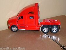 K15 357D Kinsmart  RED Kenworth T700 SEMI Tractor 1:68 Scale diecast pull back