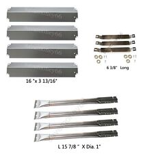 Charbroil Gas Grill Replacement Crossover Tubes and Burners,SS Heat Plates
