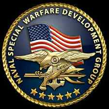 Incorniciato US MILITARY INSIGNIA stampa -- US NAVY SEAL Special Forces (PICTURE POSTER)