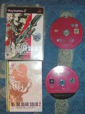 Metal Gear Solid 2 Sons of Liberty Ps2 1a Stampa Italiana + Bonus Dvd