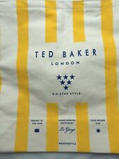 Ted Baker Shopper Bag Orange 100% Cotton