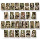 MULTICAM MTP OFFICIAL RANK SLIDE IVORY WHITE BLACK ACF CADET ARMY PATCH