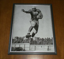 1939 UCLA JACKIE ROBINSON FRAMED B&W IN ACTION PRINT