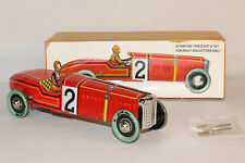 Paya Tin Windup Race Car,  Boxed