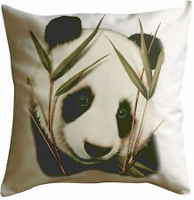 Panda Solo | Quality 100% Cotton Cushion Cover and Zip | Howard Robinson