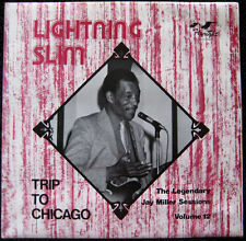 Lightning Slim - Trip to Chicago - Jay Miller  Vol 12  - Flyright 533 - New