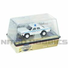 Auto World Xtraction R18 1974 Dodge Monaco Chicago Police Slot Car HO / 1:64