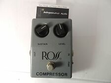 VINTAGE ROSS COMPRESSOR EFFECTS PEDAL ORIGINAL CHANUTE, KS USA GREY BOX RARE