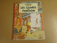 BD HC RE 1954 / TINTIN - LES CIGARES DU PHARAON