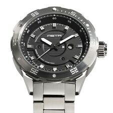 Meister Diver One D0101SS Men's Metal Band Analog Wristwatch MSTR Watch