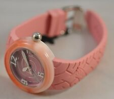 Von Dutch Ladies 44mm Swiss Made 'Pink Spiral' Watch - with $325.00 PriceTag