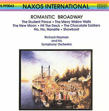 RICHARD HAYMAN ROMANTIC BROADWAY CD GERMANY NEAR MINT DISC NAXOS INTERNATIONAL